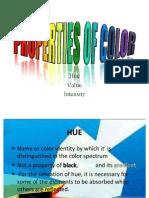 Properties of Color