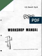 Benelli 900 SEI Manual