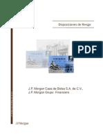 Disposiciones de Riesgo_ JP Morgan