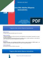 PROGRAMA Más Adultos Mayores Autovalentes