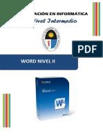 Manual Sesión 1 - Word Nivel II