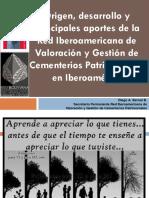 Conferencia Diego a. Bernal B en el Coloquio Coloquio de Buenas prácticas en Patrimonialización y Gestión de Cementerios Municipales de Bolivia