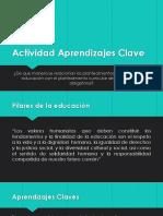 Actividad Aprendizajes Clave Curso
