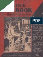 Atkins Saw Book for Home Craftsmen 1931