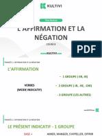 Aula8. l'Affirmation Et La Negation