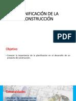 Clase 1 - Planificación de La Construcción1 - Copia