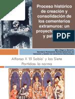 Ponencia Proceso Histórico de Creación y Consolidación de Los Cementerios Extramuros - Diego a Bernal B