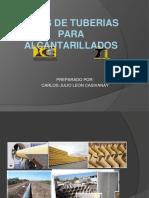 253234095 Tipos de Tuberias Para Alcantarillados Pptx Converted