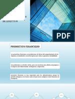 pronóstico financiero y flujo  de efectivo