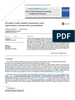 The Impact of Audit Committee Characteristics 2015 Journal of International