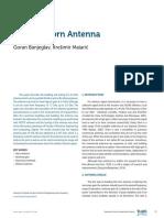 2.4 GHz Horn Antenna