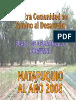 KAYNANLLAQTAY - MATAPUQUIO
