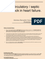 heart circulatory failure case presentation