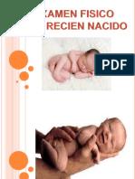 Examen Fisico Del Recien Nacido