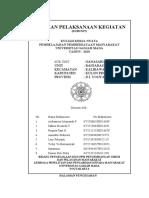 Laporan Pelaksanaan Kegiatan Subunit Ganasari