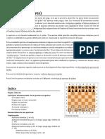 La apertura en el ajedrez