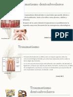 Traumatismo dentoalveolares