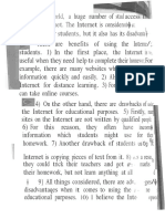Internet Pros and Cons Scan
