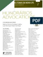 Vol. 02 - Honorários Advocatícios (2015)