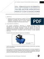 Inversion de Marcha Del Motor Monofasico
