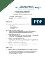Balotario Para Examen Final Dr. Prado