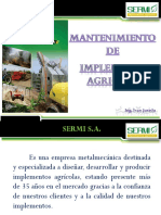 Mantenimiento Implementos Agricolas