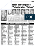 377 doctorados falsos - I