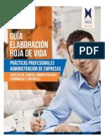 1-GUIA ELABORACION HOJA DE VIDA - Fundación univeritaria Luis amigo.pdf