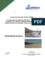 Expediente Tecnico Chiquerillo, Final