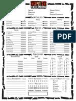 Hunter Sheet