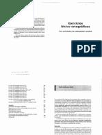 ejercicios lexico ortograficos 3ra edicion