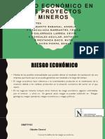 Riesgo Económico en Los Proyectos Mineros