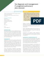 Pulmonal stenosis