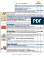 Check List Formulario