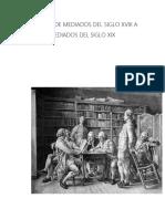 Bloque II de Mediados Del Siglo Xviii a Mediados Del Siglo Xix