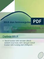 BBLR Dan Perawatan Termo 2017