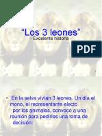 Los tres leones 1.ppt