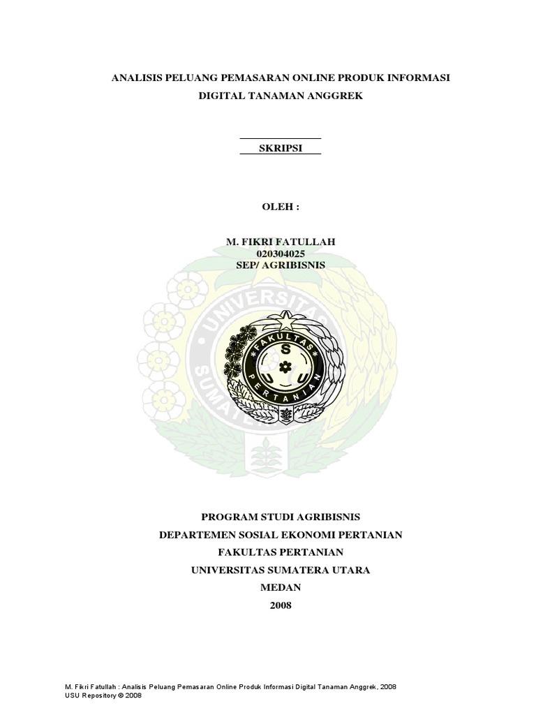 Skripsi Analisisi E Commerce Pdf