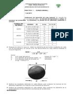 Cuestionario para purebas de dureza Brinell