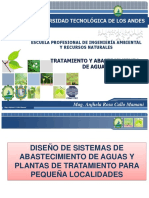 Alternativas Tecnologicas de Agua Potable