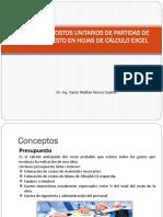 10-Analisis de Costos Unitarios