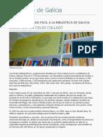 Biblioteca de Galicia - Biblioteca de Celso Collazo - 2016-03-15