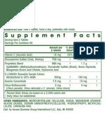 Amway Nutr Nut Nutr v en NutriliteGlucosamine 7 30 Daysupply