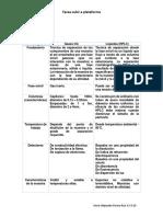 Cuadro Comparativo CG y HPLC