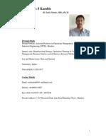 Dr Sachin S. Kamble