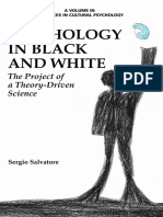[Advances in Cultural Psychology_ Constructing Human Development] Sergio Salvatore - Psychology in Black and White_ the Project of a Theory-Driven Science (2015, Information Age Publishing)