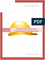 Curso de Inglés Técnico Para Profesionales de La Construcción (Sandra E. San Román) 5