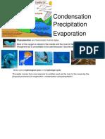 Condensation Precipitation