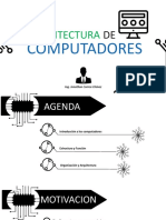 Clase 1-Arquitectura Del Computador