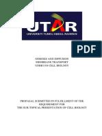 Cell Biology Presentation Proposal
